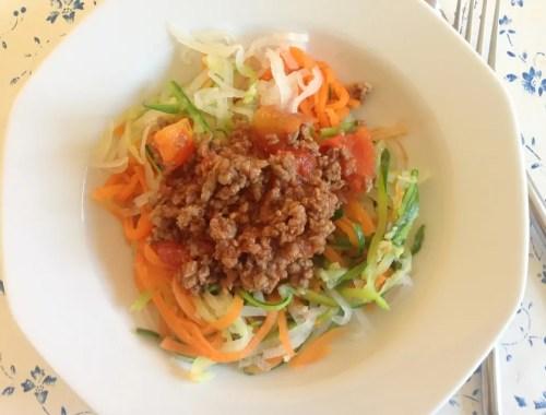Grøntsagsspaghetti + en anmeldelse af GEFU Spirelli Slicer