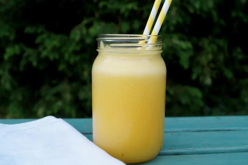Hjemmelavet frugtjuice