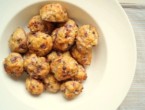 Kyllingefrikadeller i ovn