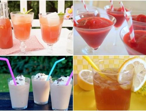 6 kølige sommerdrikke