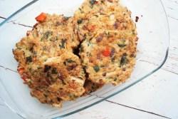 Kyllingebøffer med grøntsager