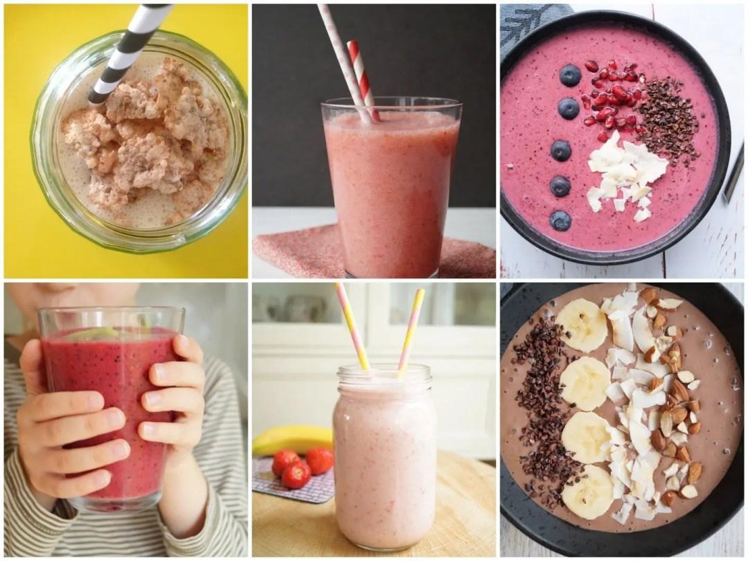 7 lækre smoothies til morgenmad