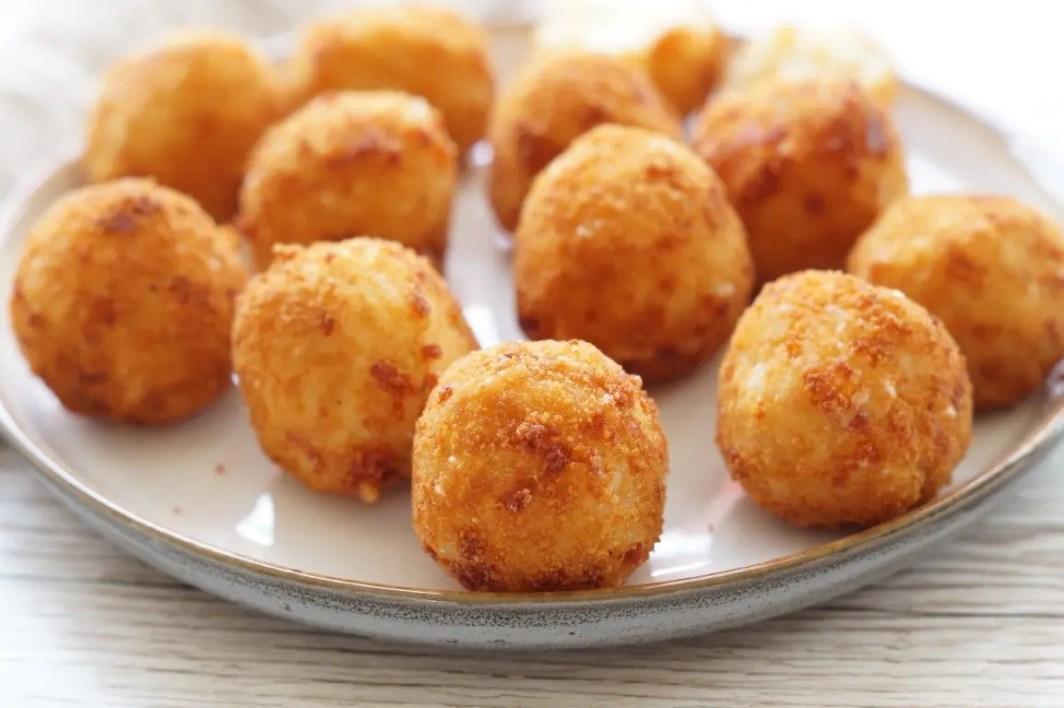 Stegte riskugler - rice balls