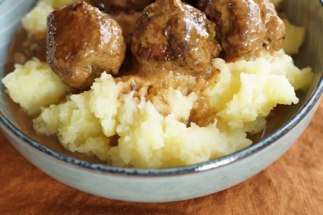 Frikadeller med kartoffelmos