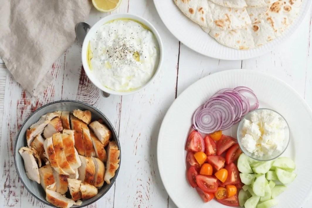 Tortillas med kylling
