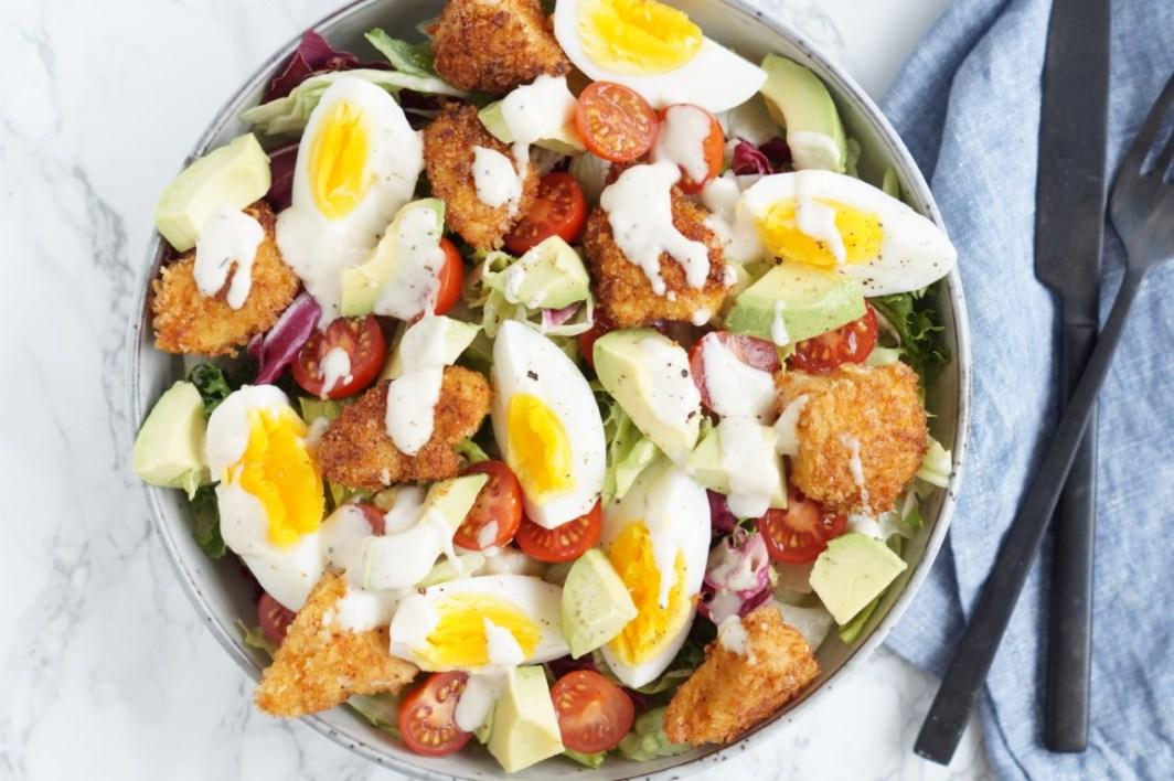 nuggets-salat