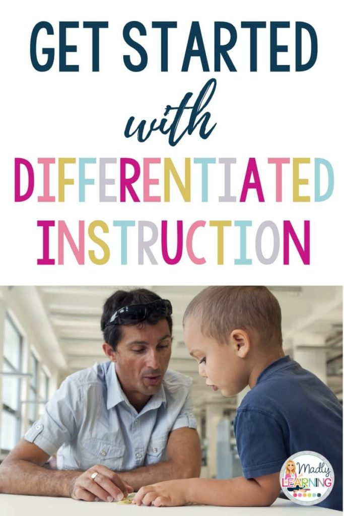 Understand why differentiation is important, but not sure where to start? Click through to learn how to get started with differentiated instruction! differentiation | elementary | ontario | teachers | student