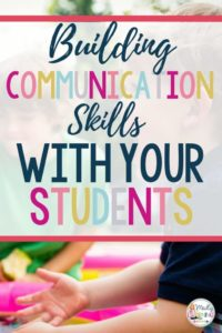 Need help engaging your students in discussion? Click through to learn how you can build communication with your students!