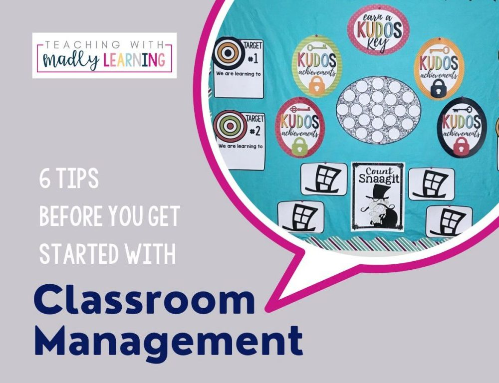 EP 151 - 6 tips for starting classroom management