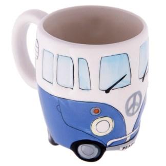 Mad Merch Camper Van Blue Mug