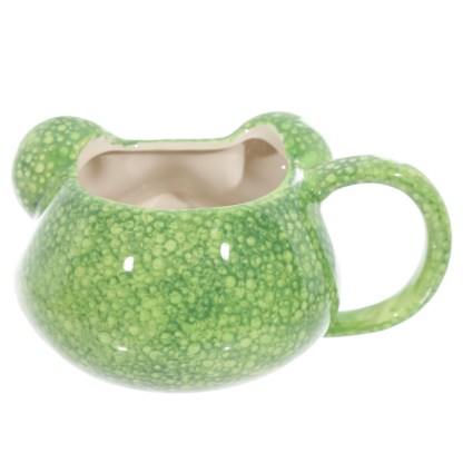 Mad Merch Tree Frog Head Mug