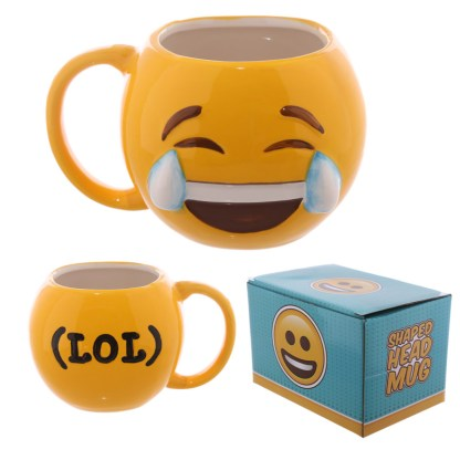 Emoji Mug Joy