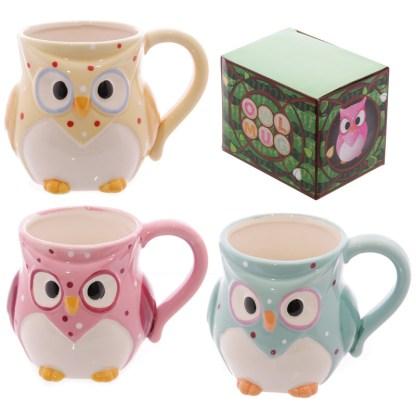 Wise Owl Ceramic Mug