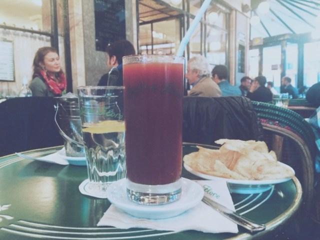 bloody mary café de Flore Paris