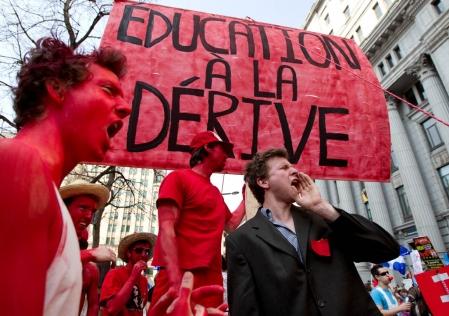 Je veux comprendre... la grève étudiante au Québec manifestations etudiantes du 22 mars 2012