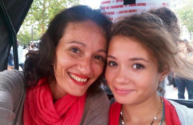 Mère Fille : Laurine, 14 ans, et sa maman Marie marie laurine