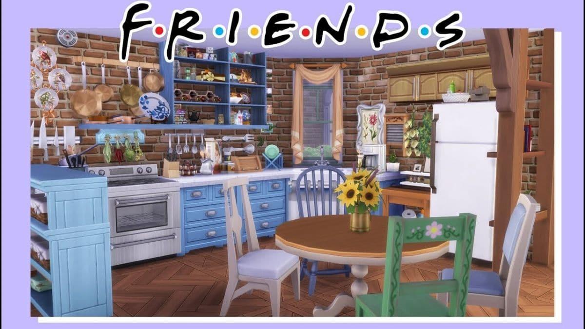 L Appart De Monica Friends Dans Les Sims 4 Cette Idee Geniale Madmoizelle