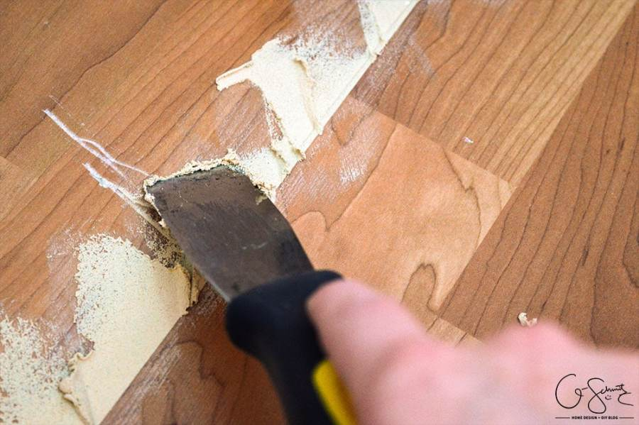 Patch Gaps in Laminate Floors   Madness   Method How to patch gaps in laminate floors when you have removed a wall or want to