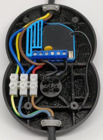 Interrupteur pied z-wave