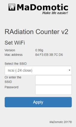 RAC2 WiFi