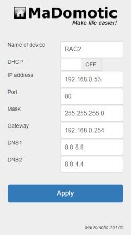 RAC2 network