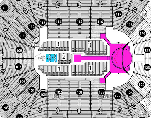 Hp Pavilion Seating Chart Brokeasshome Com