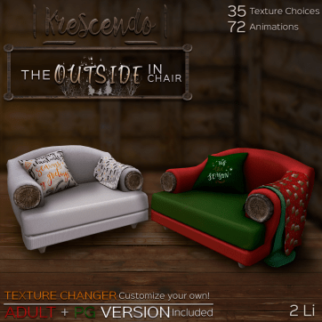 [Kres] The Outside In Chair Ad