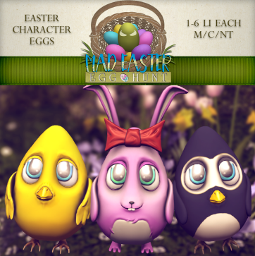 Easter Character Eggs 1500 Points