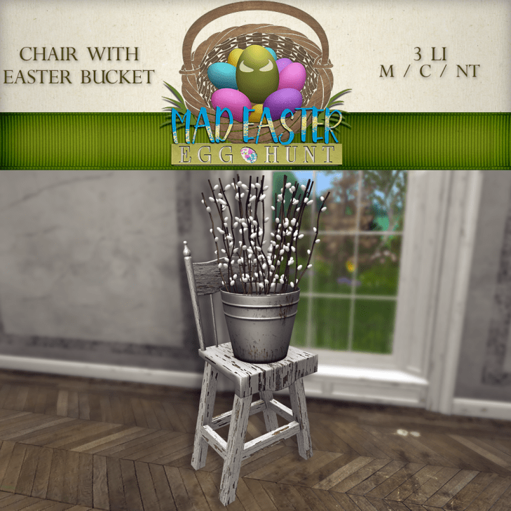 Chair with Easter Basket 2500 Points