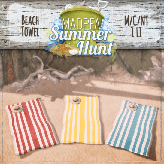 Beach Towels 1000 Points