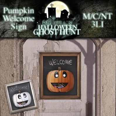 Welcome Signs - 1000 points