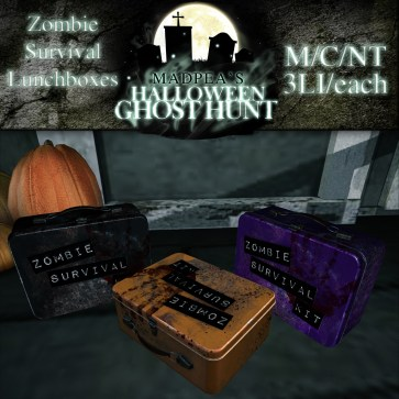 Zombie Survival Lunchboxes - 1500 points