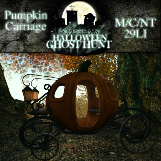 Pumpkin Carriage - 3000 points