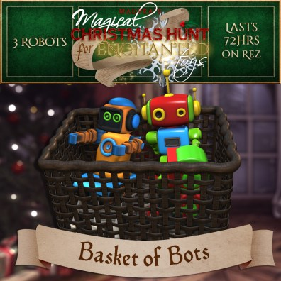 """""""Basket of Bots"""" contains 3 Robots and costs $2500L (you save $500L)"""