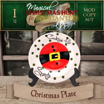Christmas Plate - 500 Points