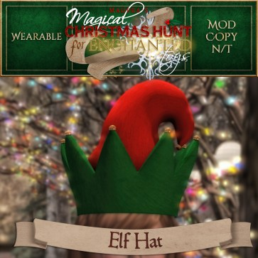 Elf Hat - 500 Points