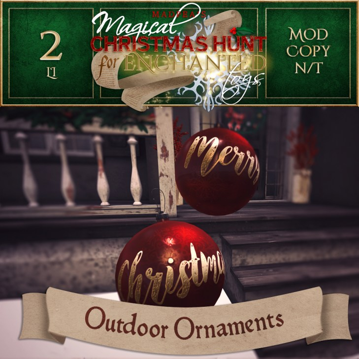 Outdoor Ornaments - 1000 Points