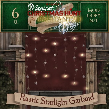 Rustic Starlight Garland