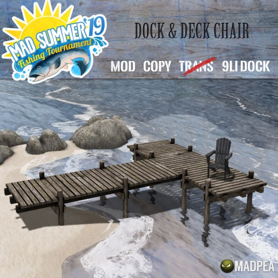 MadPea Dock & Deck Chair - 1500 MadPoints!