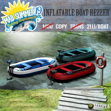 MadPea Inflatable Boat Rezzer - 1996 MadPoints!