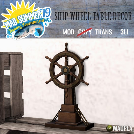 Arr, a Wheel From My Favorite Ship!