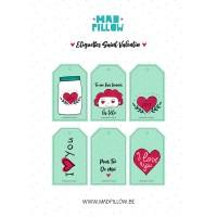 Étiquettes Saint-Valentin