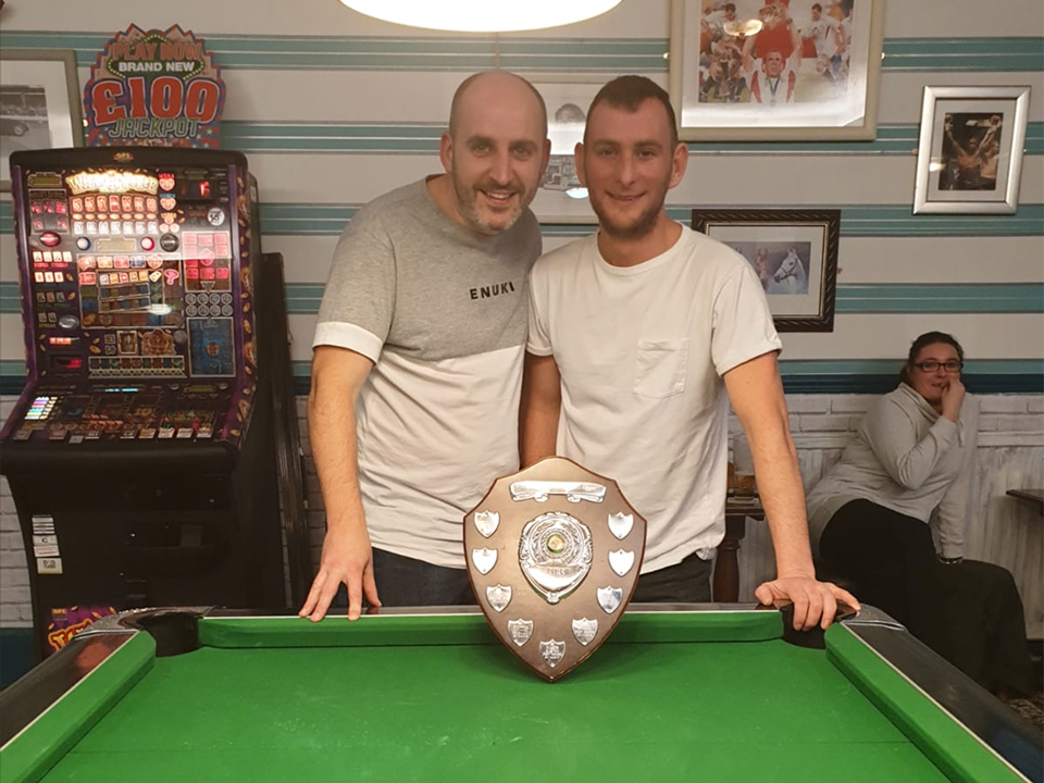 Well done to Phil Malam and Paul Cavanagh on winning the 2019 Doubles KO