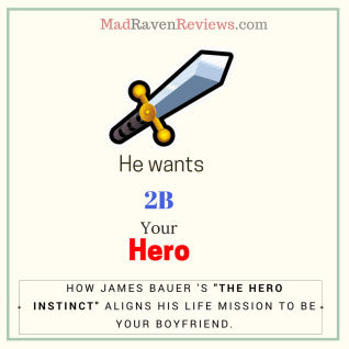 his secret obsession james bauer hero instinct