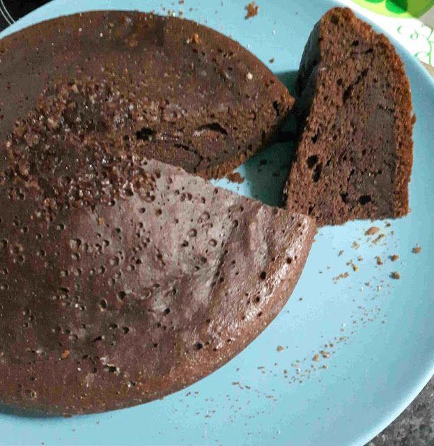 Bizcocho de chocolate