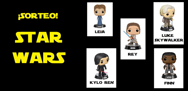 Sorteo FUNKO POP Star Wars 2