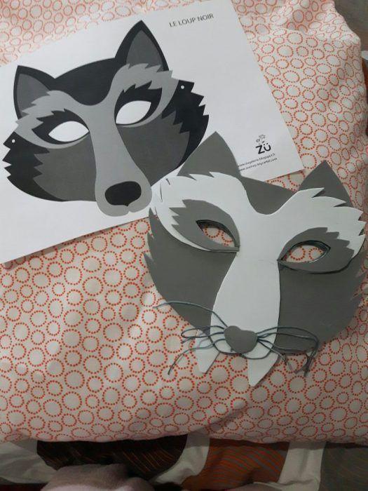 Disfraz de Lobo, Máscara DiY