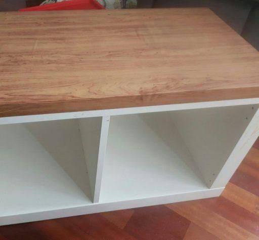 Cocinita de madera DiY barata