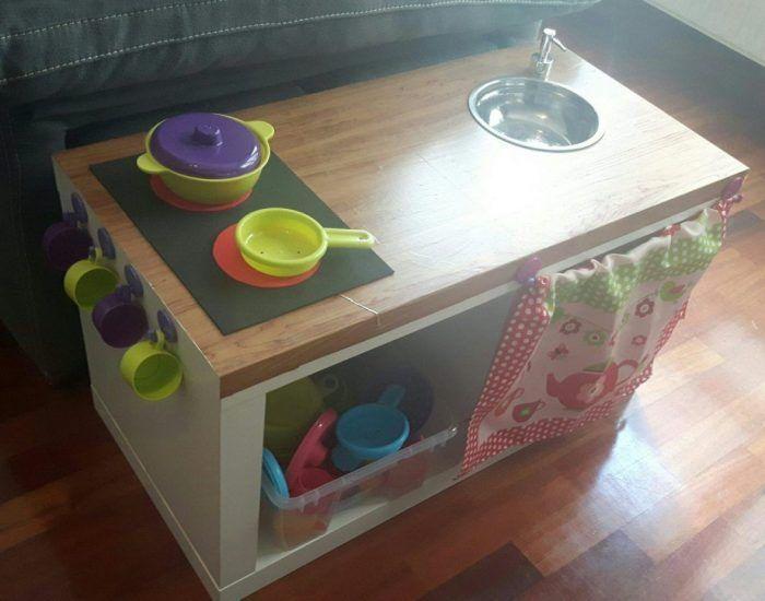 Cocinita de madera DIY en sólo 5 pasos