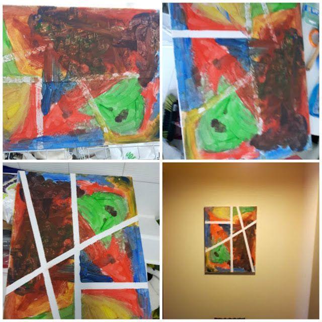 Cuadro Abstracto DIY